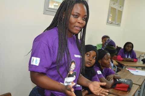 participants discussed the main issues affecting adolescent girls and young women