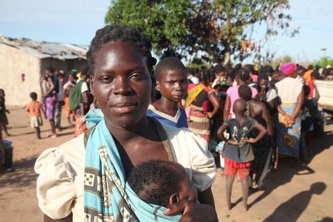 Moradora de Guaraguara, Sarafina Belavista, de 22 anos ©UNFPA Moçambique/Natalia da Luz