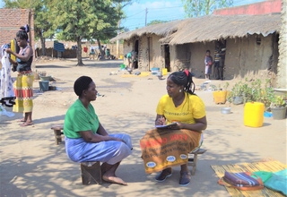 Enumeration during a 2017 Census observation mission in Sofala Province ©UNFPA Mozambique/Karlina Salu