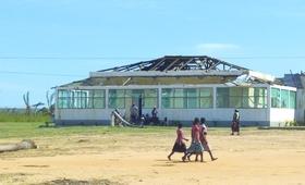 UNFPA em missão em Mucojo, Cabo Delgado - Foto de Conote Elias